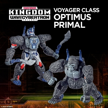 Transformers: Kingdom Voyager Class OPTIMUS PRIMAL